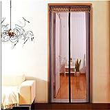 DeKaWei magnético mosquitera puerta manos libres bug-proof cortina cortina de micro malla