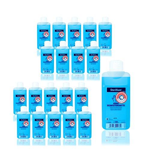 20x 500ml Sterillium classic Händedesinfektion Desinfektionsmittel mit Verwendbarkeitskennzeichung