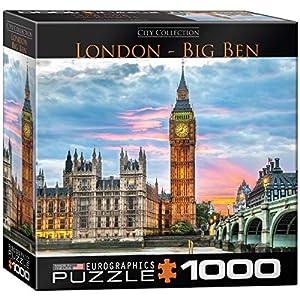 "Eurographics 8000-0764""London Big Ben - Puzzle (1000 Piezas)"