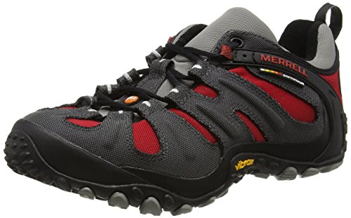 merrell-chameleon-wrap-slam-mens-low-rise-hiking-multicolor-charcoal-red-9-uk-435-eu