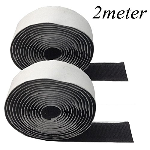 blanc-ruban-crochet-et-boucle-noir-20-mm-large-adhesif-fermeture-dos-adhesif-art-craft-set-2m-hook-2
