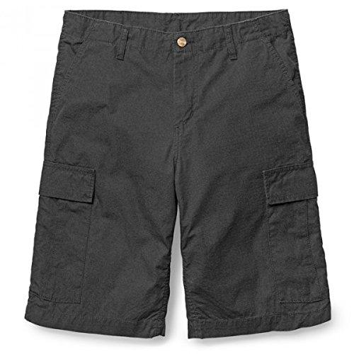Carhartt Herren Shorts I015999, Schwarz (Nero), 48 (Herstellergröße: 32) Carhartt Logo-patch