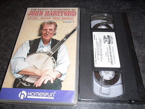 the-banjo-according-to-john-hartford-licks-ideas-and-music-video-2-vhs-video