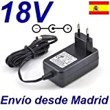 Cargador Corriente 18V Reemplazo Taladro Einhell Accu-Pack TH-CD 18-2 2B Recambio Replacement