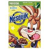 Nestlé - Nesquik - Cereales con chocolate - Caja de 375 g - Pack de 2 unidades