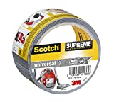 Scotch 4101S10 Gewebeband universal Supreme, extra stark klebend, 48 mm x 10 m, grau