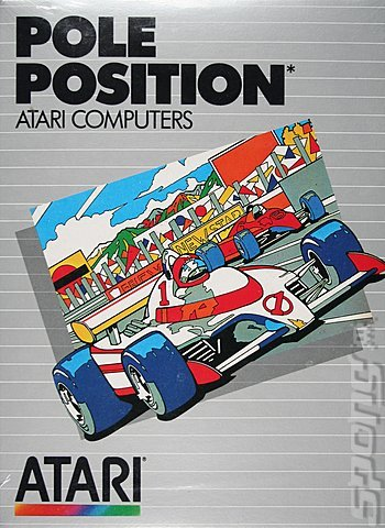 Pole Position - Atari - Cassette