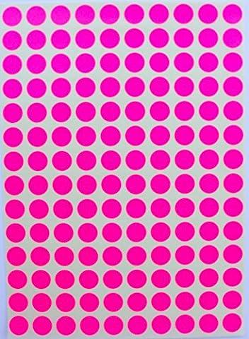 Paillette étiquettes à code couleur 3/20,3cm Round 10mm–Stickers brillants–(0.375) inch Glittery Dots Label–Trois Huitièmes pouce ronds Autocollant