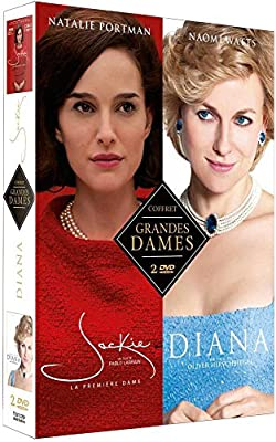 Coffret grandes dames 2 films : jackie ; diana [FR Import]