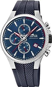 Lotus 18621/1 Reloj Hombre Cuarzo Caucho