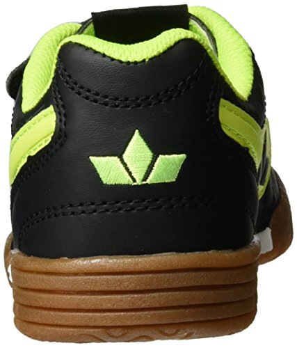 Lico - Bernie V, Sneakers per bambini e ragazzi Nero (Schwarz/lemon)