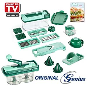 aktionspreis original genius nicer dicer fusion julietti set 23tlg schneidger t neu. Black Bedroom Furniture Sets. Home Design Ideas