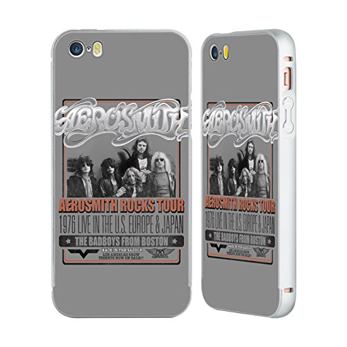 Ufficiale Aerosmith Loud Proud Arte Da Poster 3 Argento Cover Contorno con Bumper in Alluminio per Apple iPhone 6 Plus / 6s Plus 1976 Europa Giappone