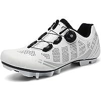 Youngtie Chaussures de Vélo de Montagne pour Hommes Chaussures de Cyclisme VTT Professionnelles pour Femmes Compatible…