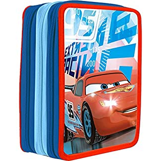 Plumier Cars Disney triple 36pz