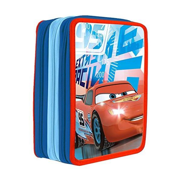 Plumier Cars Disney triple 36pz
