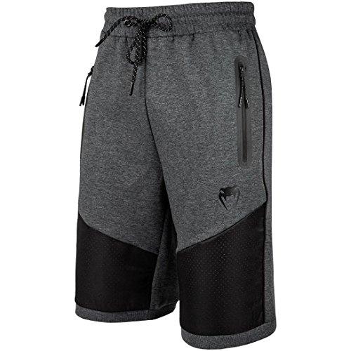 Venum Laser Shorts Coton Homme, Gris Chiné Foncé, FR : S (Taille Fabricant : S)