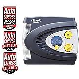 Ring RAC635 Preset Digital Tyre Inflator, 12V Air Compressor Tyre Pump, 3 Min Tyre Inflation, LED Light, Carry Case, Valve Adaptors **AUTO EXPRESS DOUBLE AWARD WINNER**