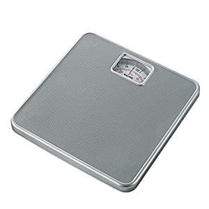 Salter Báscula de Pesaje Mecánica, Dial Analógico Fácil de Leer, Capacidad de 120 kg, Gris