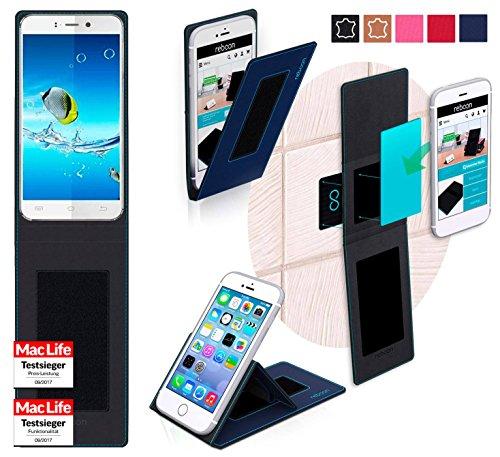 reboon Hülle für JiaYu S2 Basic Tasche Cover Case Bumper | Blau | Testsieger