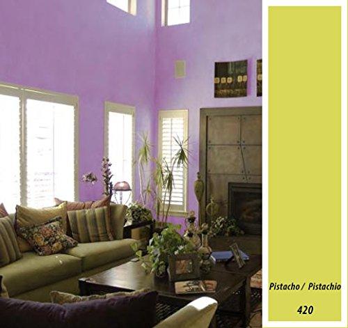 Macy Wandfarbe, matt, für Dekoration, 4 l, grün