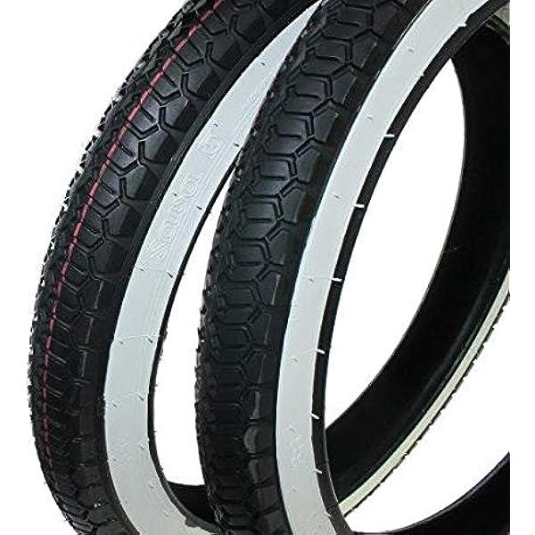 Piaggio Ciao Reifen Set Weißwand Mofa Moped 2 1 4 X 16 2 25 X 16 Zoll Citomerx Auto