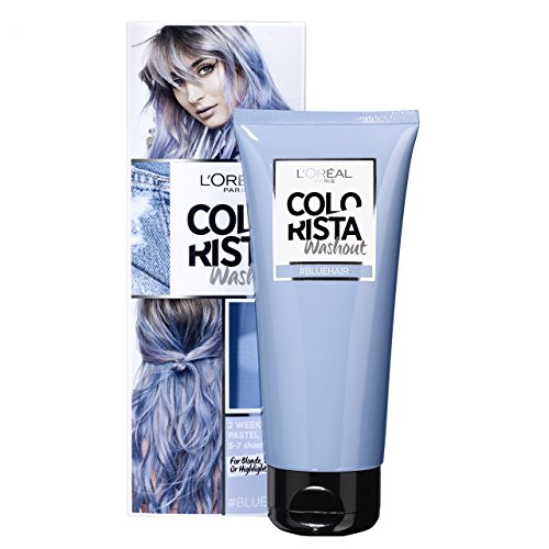 L'OREAL coloration - COLORISTA WASH OUT - bluehair
