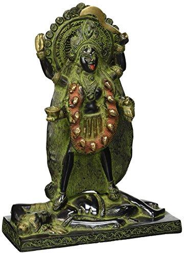 Exotic India Kali als Bhairavi, Sindoor schwarz grün