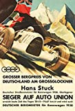 Grossglockner grosser preis grand prix autorennen 1938 schild aus blech, metal sign, tin sign