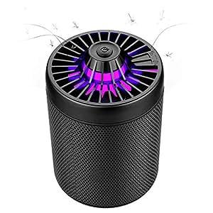 EgoEra LED Fliegen Killer, Fliegen Brutzler Lampe USB Anschluss Mücken Inhalator Insektenfalle, Stummschaltung, keine Strahlung ungiftig, keine Chemie, unbedenklich für Säuglinge, Kinder, schwangere