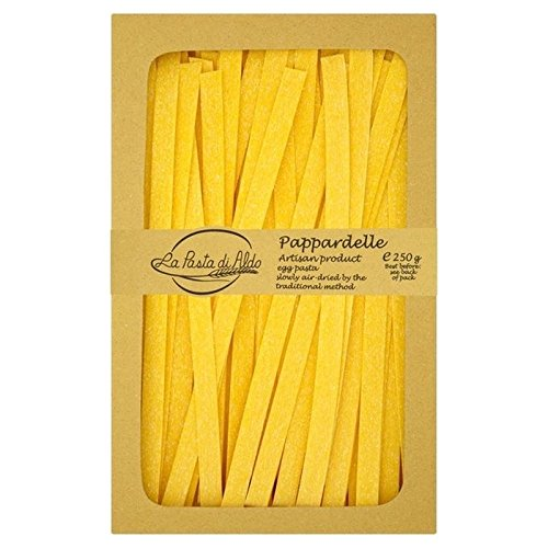 Price comparison product image Pasta Di Aldo Pappardelle All Uovo Egg Pasta Air Dried 250g - Pack of 2