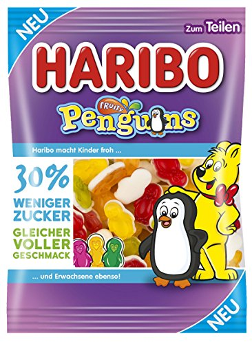 Haribo Fruity Penguins, 160 g Beutel