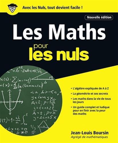 Les Maths pour les nuls par From First