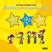 Peky CD-ROM Interactivo 3, 4 y 5 años: Diviértete y aprende jugando con Peky (Proyecto Peky) - 9788444172538