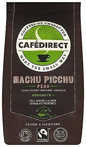 Caf Direct Fairtrade Machu Picchu Peru Organic Freshly Ground Coffee 227 g (Pack of 2)