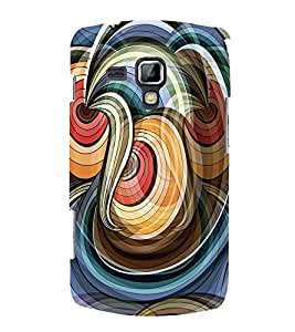 PrintVisa Designer Back Case Cover for Samsung Galaxy S Duos 2 S7582 :: Samsung Galaxy Trend Plus S7580 (white blue grey red unique )
