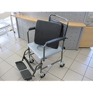 Toilettenstuhl fahrbar H720T von AQUATEC INVACARE Toilettenrollstuhl Rollstuhl – BILDER UNBEDINGT ANSEHEN !