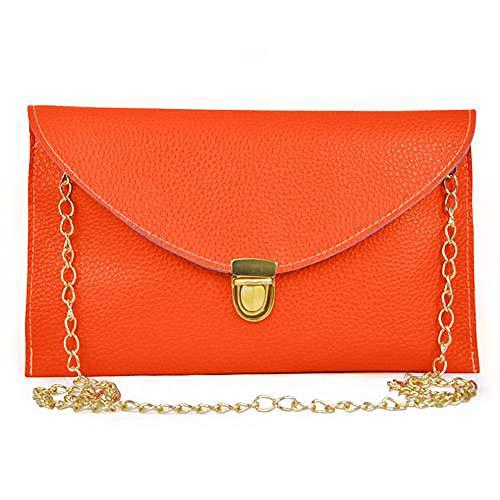 (HWUDFSLG Mode Heiße Handtasche Clutch Bag Großhandel Und Einzelhandel Geldbörse Pu Leder Geneigte Umhängetasche Umschlag Taschen)