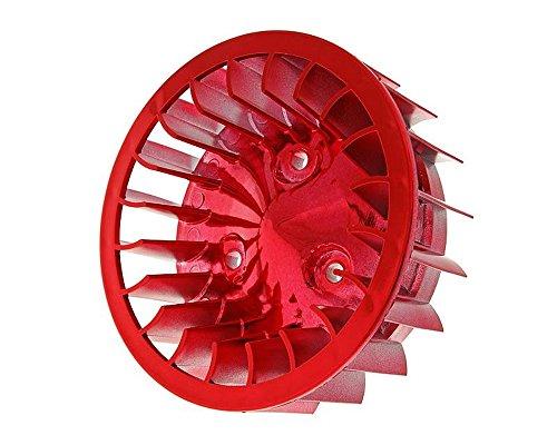 2extreme Ventilador Cilindro de color rojo para KTM Ark 50, Chrono 50,...