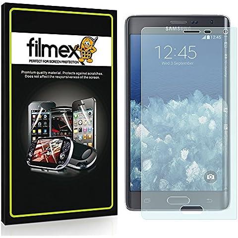 3 x Filmex Pellicola Protettiva Samsung Galaxy Note Edge - Opaca (Antiriflesso), Prima Qualità Giapponese in PET, Kit di installazione, Garanzia a vita
