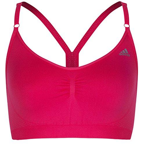 Adidas Performance Adipure sans couture Soutien-gorge de sport Pink - Rosa - rose