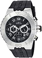 Invicta 24747 Pro Diver Reloj para Hombre Acero Inoxidable Cuarzo Esfera Negro de Invicta