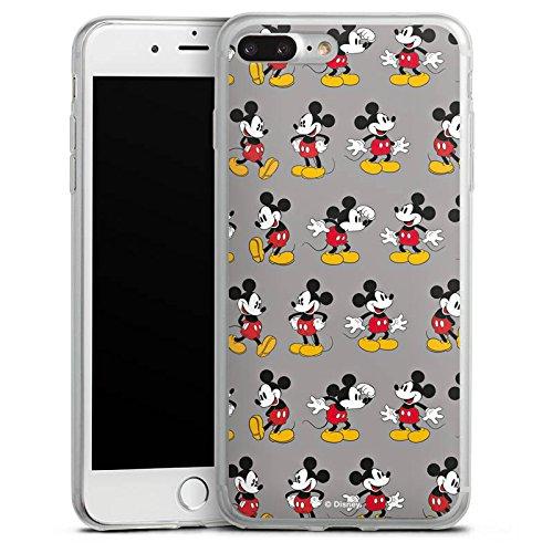 Apple iPhone 8 Slim Case Silikon Hülle Schutzhülle Disney Mickey Mouse Merchandise Geschenk Silikon Slim Case transparent