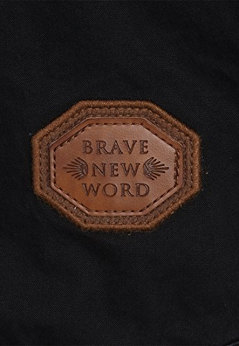 Naketano Male Jacket Kommissar Rizzo Black