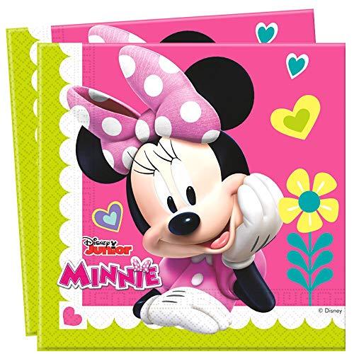 Geburtstag Servietten Papier 20 Stück Minnie Mouse ()
