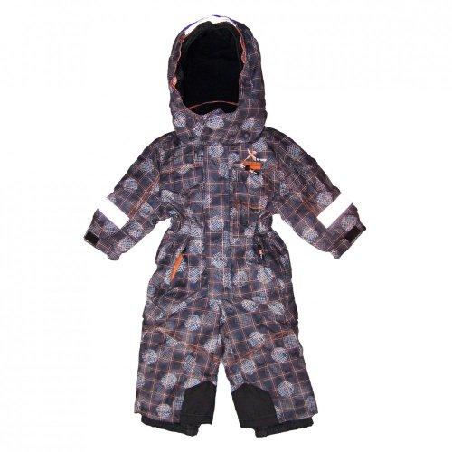 Killtec Skioverall/Ike Allover Mini Ski Overall, Farbe:Grau, Kinder Größen:80