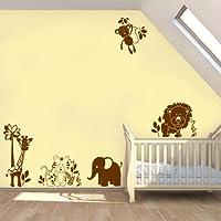 Childrens Jungle Animals, Monkey, Lion, Elephant, Giraffe