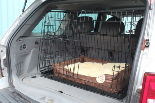 Hardcastle Folding Metal Car Boot Pet Dog Cage
