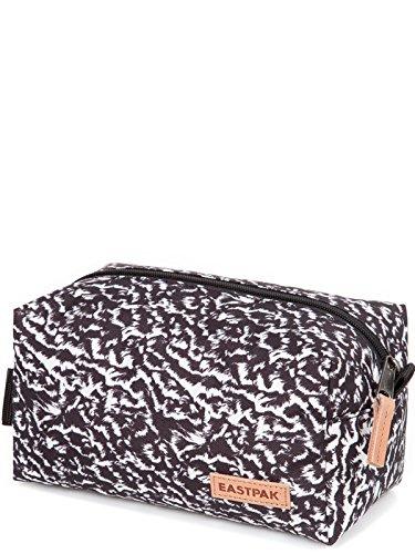 Eastpak Cherm Single Neceser de Viaje, Diseño Curls, Color Negro