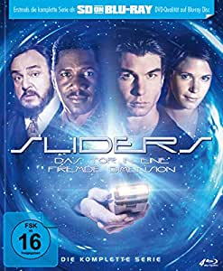 Sliders - Das Tor in eine fremde Dimension - Die komplette Serie - Mediabook  (SD on Blu-ray) [Limited Edition]